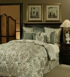 Sherry Kline Paris Blues 8-piece Comforter Set