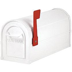 Salsbury Heavy-Duty Rural White Mailbox