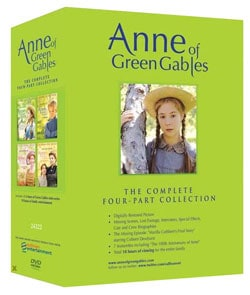 Anne of Green Gables: The Complete Four-Part Collection (DVD) 6619071
