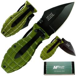 Green Beret 6-inch Grenade Folding Knife