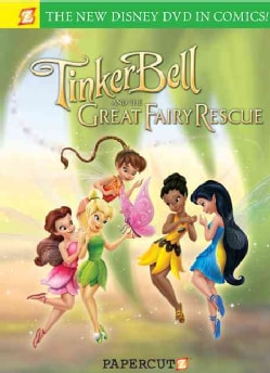 Disney Fairies: Tinker Bell and the Great Fairy Rescue (Hardcover) 6629337
