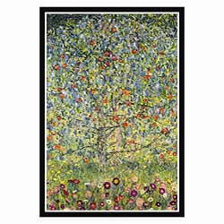 Gustav Klimt 'Apple Tree' Framed Print Art
