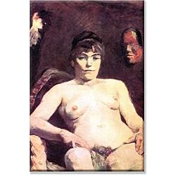 Toulouse-Lautrec 'Nude' Canvas Art