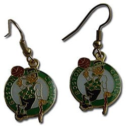 Boston Celtics Dangle Logo Earrings