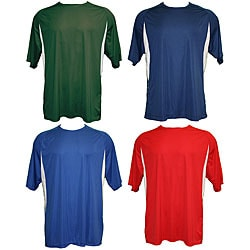 A4 Men's Cooling Performance Colorblock Crew Shirt