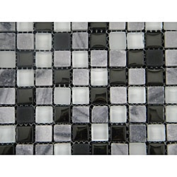 Cliffs Mix 12-inch Wall Tile Shett (Pack of 11)