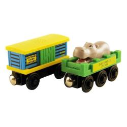 Thomas Wooden Railway 'Zoo Car' Toy Trains (Pack of 2)
