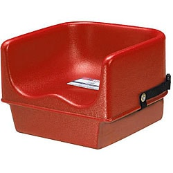 Cambro High-Sided Hot Red Booster Seat