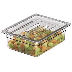 Cambro 1/4-size Notched Food Container