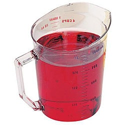 Cambro 1-quart Measuring Cup