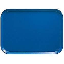 Cambro 12x16-in Blue Fast Food Trays (Case of 24)
