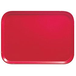 Cambro 14x18-in Red Fast Food Trays (Pack of 12)