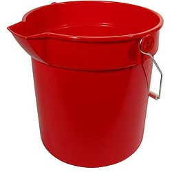 Continental Manufacturing 14-qt Red Bucket