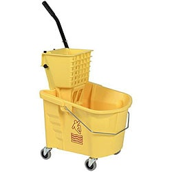 Continental Manufacturing 26-quart Yellow Mop Bucket/ Wringer