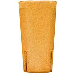 Cambro 16-oz Amber Tumblers (Case of 72) 6683453