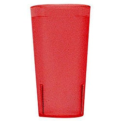 Cambro 16-oz Red Tumblers (Case of 72) 6683455