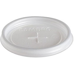 Cambro Small Disposable Translucent Lids (1500 Count)