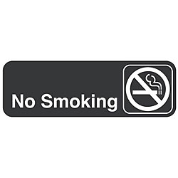 Traex 'No Smoking' Sign (3 in. x 9 in.)