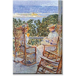 Frederick Childe Hassam 'Ten Pound Island' Canvas Art