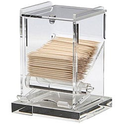 Admiral Craft Clear Toothpick Dispenser