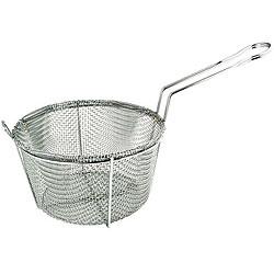 Admiral Craft 11.25-inch 4-mesh Round Fry Basket