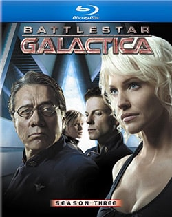 Battlestar Galactica: Season Three (Blu-ray Disc) 6860872