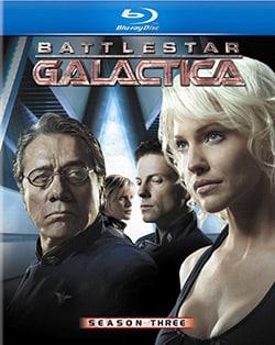 Battlestar Galactica: Season Three (Blu-ray Disc) 6860872