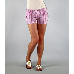 Institute Liberal Women's Pink Stripe Shorts