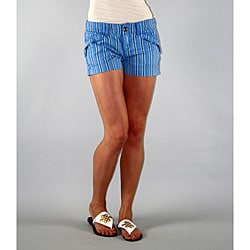 Institute Liberal Women's Blue Stripe Shorts