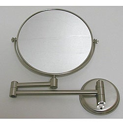DeNovo Round Wall-mount Nickel Magnifier Mirrors (Case of 28)