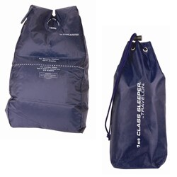 Travelon Blue Inflatable First Class Sleeper with Carrying Bag