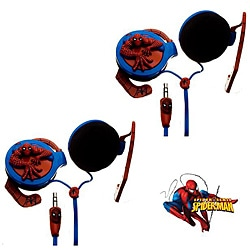 Nemo Digital Spider-Man 3D Wrap-around Headphones (Case of 2)