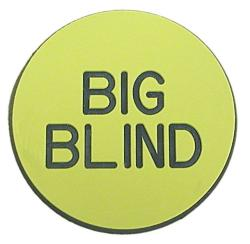 Texas Holdem Blind and Kill Buttons (Pack of 10)