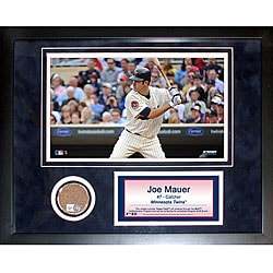 Steiner Sports Joe Mauer 11x14 Mini Dirt Collage