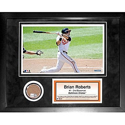 Steiner Sports Brian Roberts Mini Dirt Collage