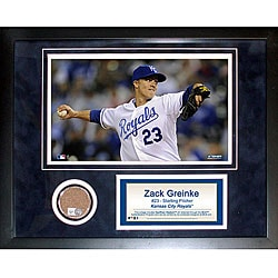 Steiner Sports Zack Greinke 11x14 Mini Dirt Collage