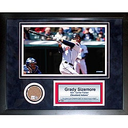 Steiner Sports Grady Sizemore 11x14 Mini Dirt Collage