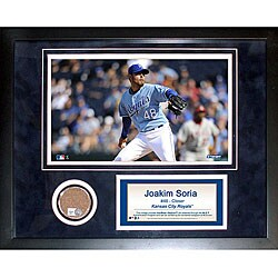 Steiner Sports Joakim Soria 11x14 Mini Dirt Collage