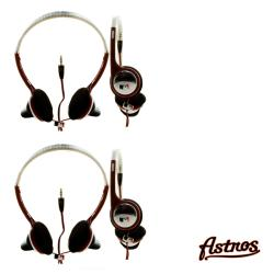 Nemo Digital MLB Houston Astros Overhead Headphones (Case of 2)