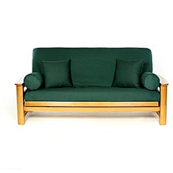 Hunter Green Full-size Futon Cover