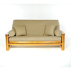 Khaki Full-size Futon Cover