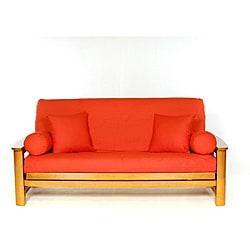 Lifestyle Covers Orange Full-size Futon Cover