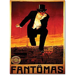 'Fantomas' Gallery-wrapped Canvas Poster