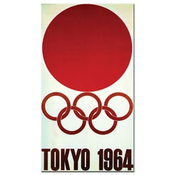 'Tokyo 1964' Canvas Poster
