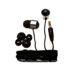 Nemo Digital Black Crystal Stud Earbud Headphones 6949640
