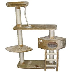 Go Pet Club 64-inch Cat Tree Condo Scratcher