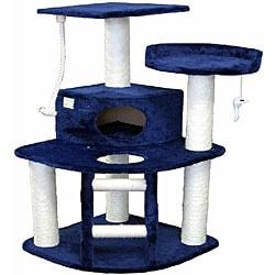 Go Pet Club 50-inch Cat Tree Condo Scratcher Furniture
