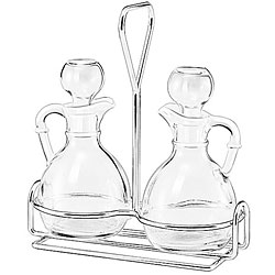 Libbey 3-piece Cruet Caddy Sets (Pack of 6 Sets)