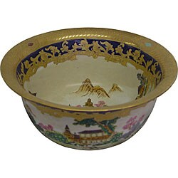 Artemis Garden Porcelain Bowl