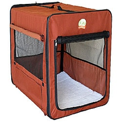 GoPetClub 26-inch Folding Soft Dog Crate